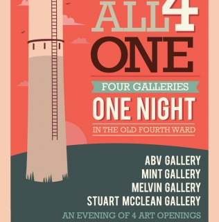 All 4 One- Old 4th Ward Gallery Crawl