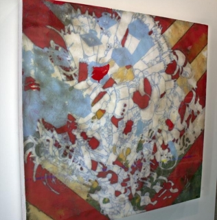 "Alexander Wright's piece, ""Lecure"" SOLD!"