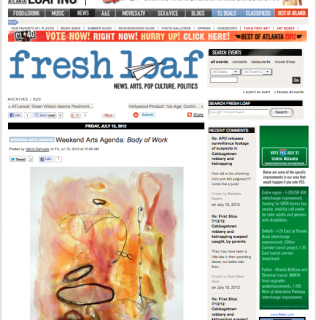 Modern Now on Creative Loafing's Weekend Art Agenda