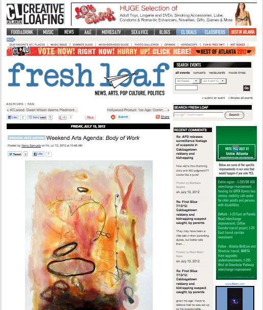 Modern Now on Creative Loafing's Weekend Art Agenda