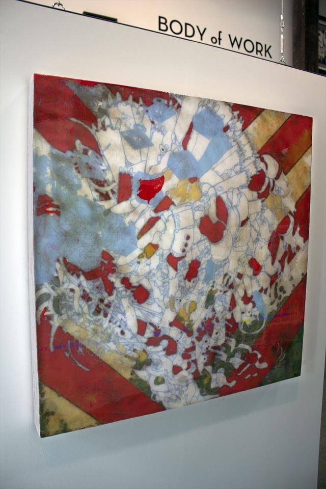 """Alexander Wright's piece, """"Lecure"""" SOLD!"""