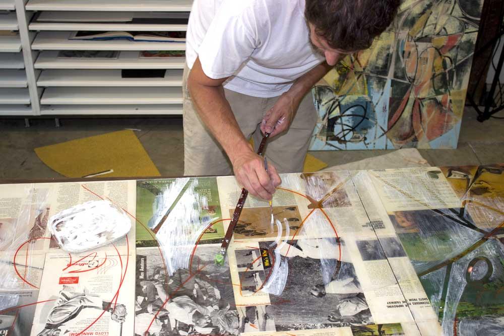 Jim Johnson- Commission work 'In Progress' photos